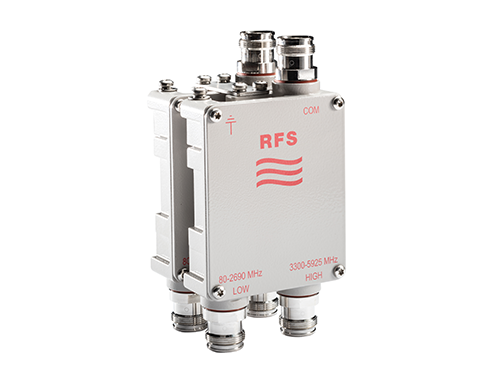 RFS Releases Extremely Compact, High-Performance Diplexers Covering 80 MHz to     5.9 GHz to Simplify Global Evolution to 5G