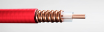 Red Plenum Coaxial Cables Ideal for Public Safety Applications